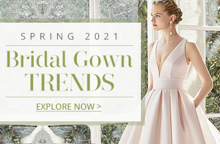 Spring 2021 Bridal Gown Trends